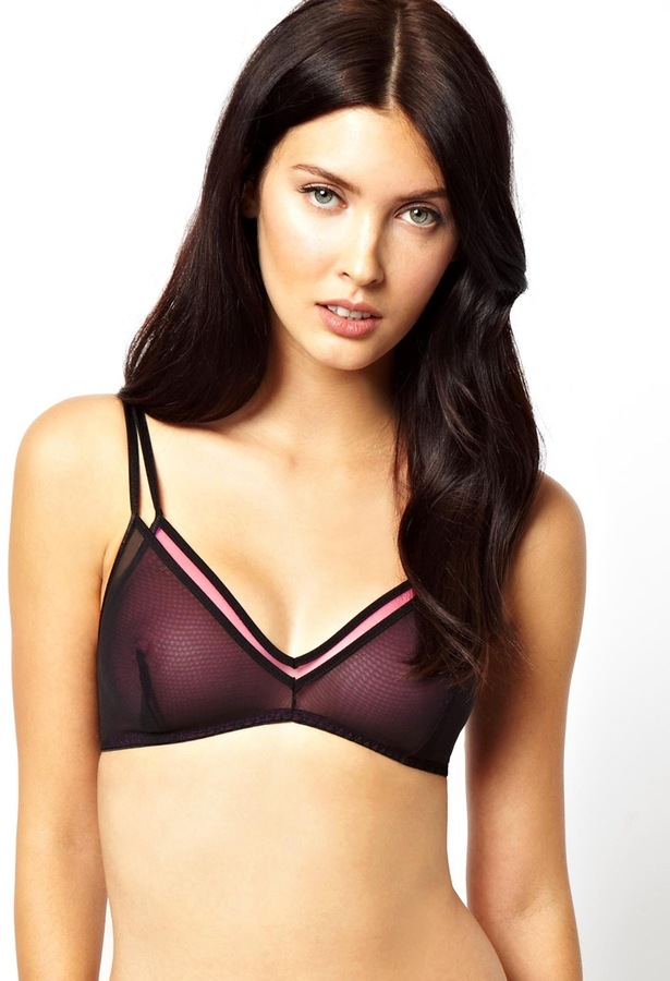 Marios Schwab Kallisti by for ASOS Inc Double Layer Soft Triangle Bra