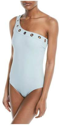 Karla Colletto Viviana Shoulder One-Piece