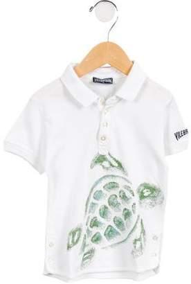 Vilebrequin Boys' Short Sleeve Polo Shirt