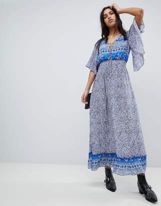 Lily & Lionel Printed Marlowe Maxi Dress