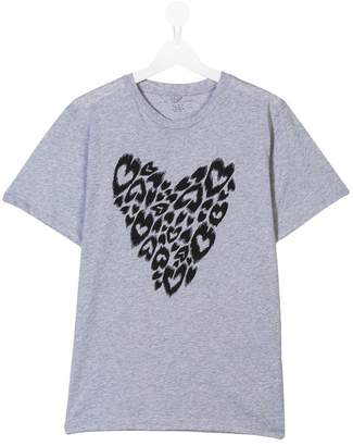Stella McCartney TEEN heart print T-shirt