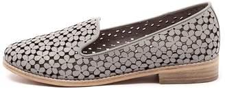 Django & Juliette New Anson Light Grey Womens Shoes Casual Shoes Flat
