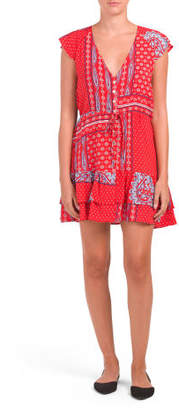 Juniors Australian Designed Boho Printed Dress