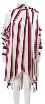 Monse Striped Long Sleeve Dress w/ Tags