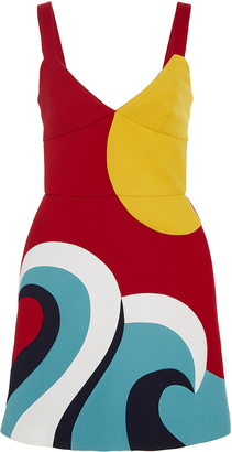 Red Valentino Sun and Wave Dress $795 thestylecure.com