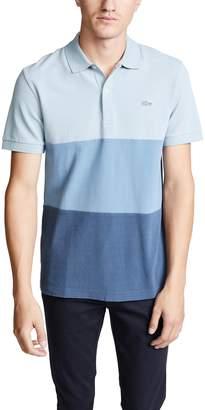 Lacoste Blue Pack Color Block Polo Shirt