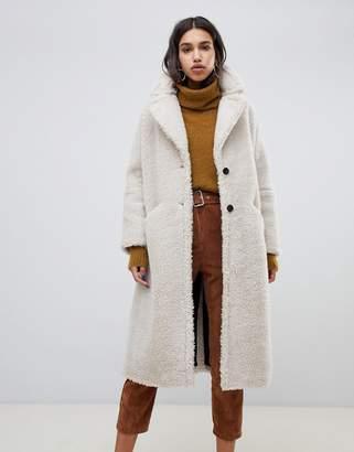 BA&SH teddy maxi coat
