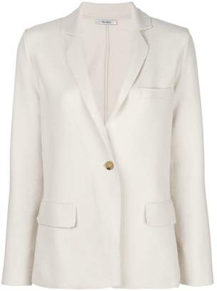 Max Mara single-button blazer
