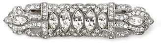 Ben-Amun Art Deco Crystal Brooch