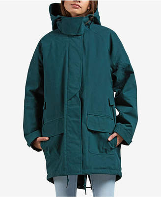 Volcom Juniors' Volcover Water-Repellent Parka