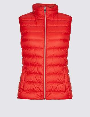Marks and Spencer Lightweight Down & Feather Gilet with StormwearTM