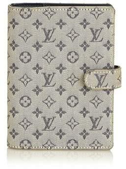 Louis Vuitton Vintage Monogram Mini Lin Small Ring Agenda