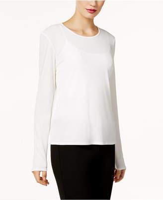 Eileen Fisher Silk Jersey Top, Regular & Petite