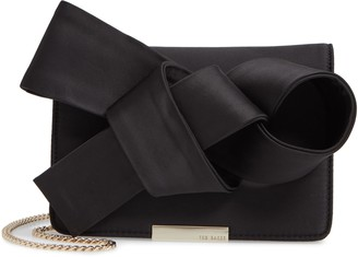 Ted Baker Janyce Twisted Bow Clutch