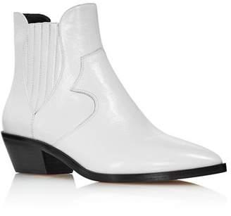 Rebecca Minkoff Women's Kaidienne Pointed Toe Leather Low-Heel Booties - 100% Exclusive