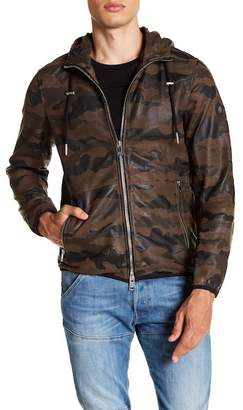 Diesel Melver Leather Print Jacket