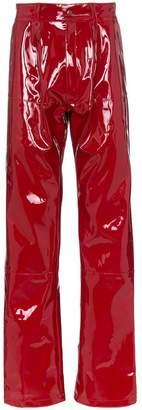 GmbH Marie straight leg PVA trousers