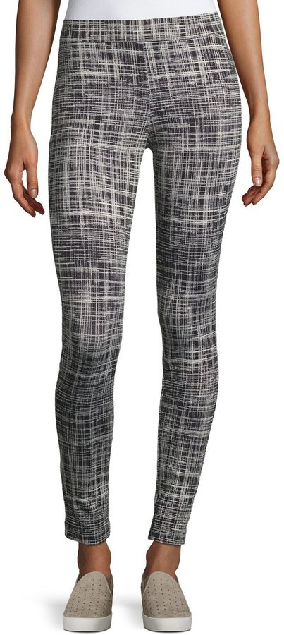 TheoryTheory Adbelle Pull-On Stretch Leggings, Blue/White