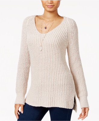 Sanctuary Sequoia V-Neck Sweater $89 thestylecure.com