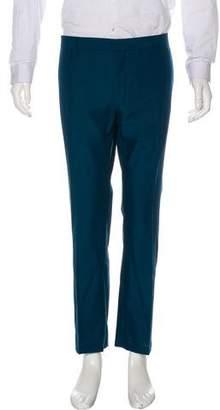 Prada Houndstooth Flat Front Pants