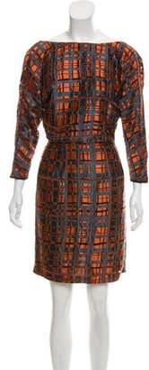 Reiss Patterned Mini Dress w/ Tags
