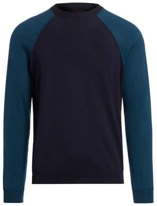 Loro Piana Wool Baseball Crewneck Sweater