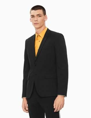 Calvin Klein slim fit stretch knit jacket