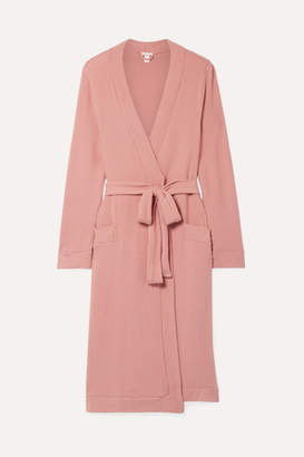 Eberjey Cozy Time Modal-blend Robe - Antique rose