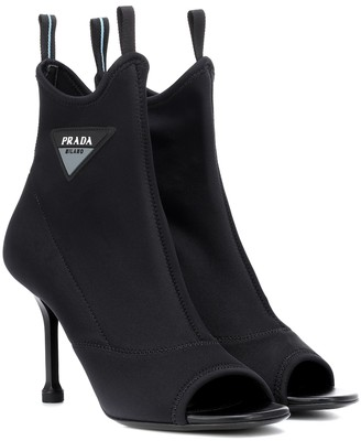 Prada Stretch-knit ankle boots