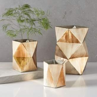 west elm Prism Mercury Vases + Candleholders