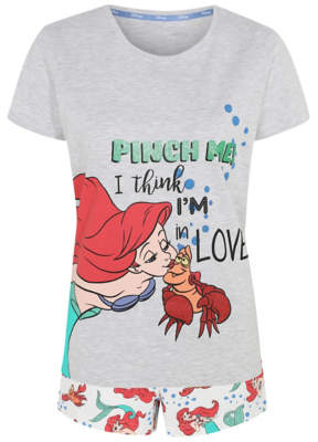 Disney The Little Mermaid Pyjama Shorts Set