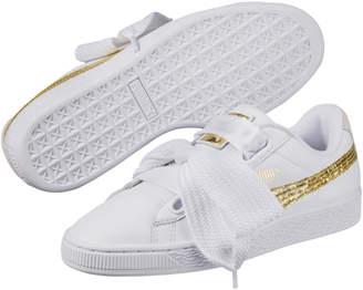 Basket Heart Glitter Women's Sneakers
