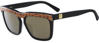 MCM Square Logo Plaque Sunglasses $276 thestylecure.com