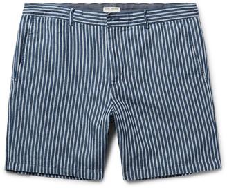 Baxter Striped Linen and Cotton-Blend Shorts