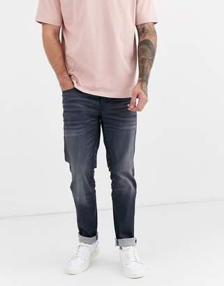 Jack and Jones Intelligence slim fit jeans in grey wash