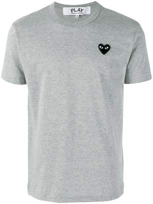 Comme des Garcons heart patch T-Shirt