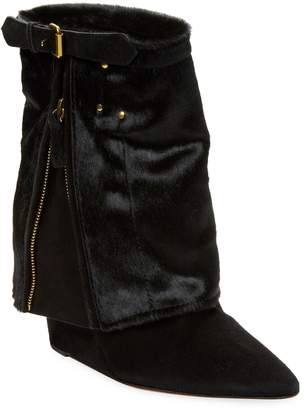 Jerome Dreyfuss Women's Leather Biboots Ankle Boot