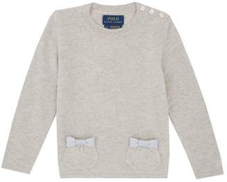 Polo Ralph Lauren Bow Pocket Sweater
