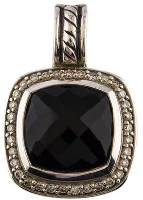 David Yurman Onyx & Diamond Albion Pendant