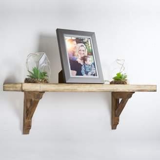 Crystal Art Gallery Hanging Wooden Corbels Shelf Brackets Set of 2