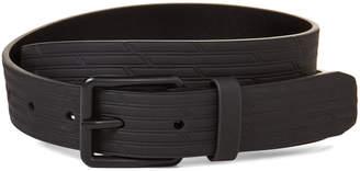 DKNY Black Textured Belt