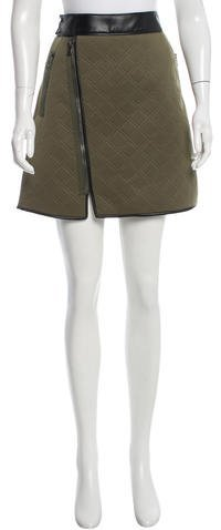 3.1 Phillip Lim 3.1 Phillip Lim Jacquard Mini Skirt