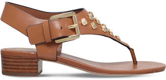MICHAEL Michael Kors Valencia leather thong sandals