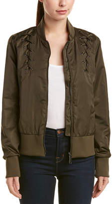 Sam Edelman Cropped Bomber Jacket