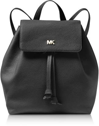 Michael Kors Junie Medium Pebbled Leather Backpack