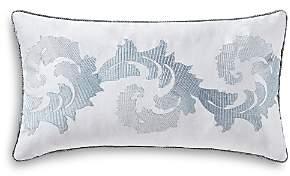 Farrah Leaf Scroll Decorative Pillow, 11 x 20