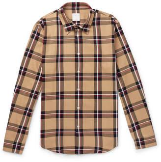 Sandro Checked Cotton-twill Shirt