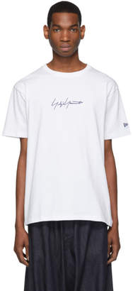 Yohji Yamamoto White New Era Edition Cotton T-Shirt