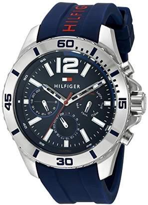 Tommy Hilfiger Men's 1791142 Cool Sport Analog Display Quartz Watch