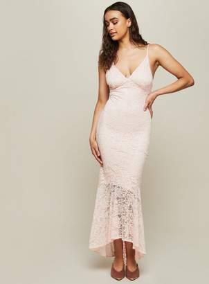 Miss Selfridge Nude Lace Fishtail Prom Dress 8984025f2
